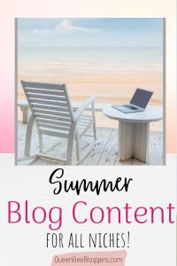 Summer Blog Content