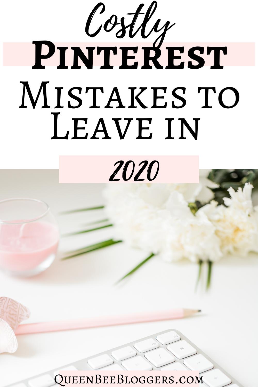 pinterest mistakes